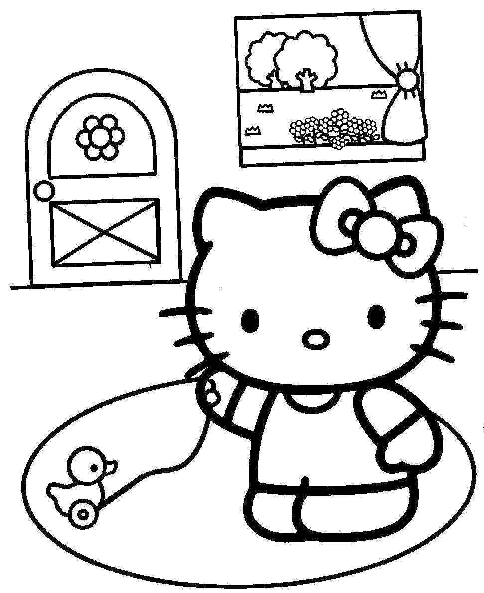 хелло китти игра с игрушкой раскраски бесплатно онлайн с цветами