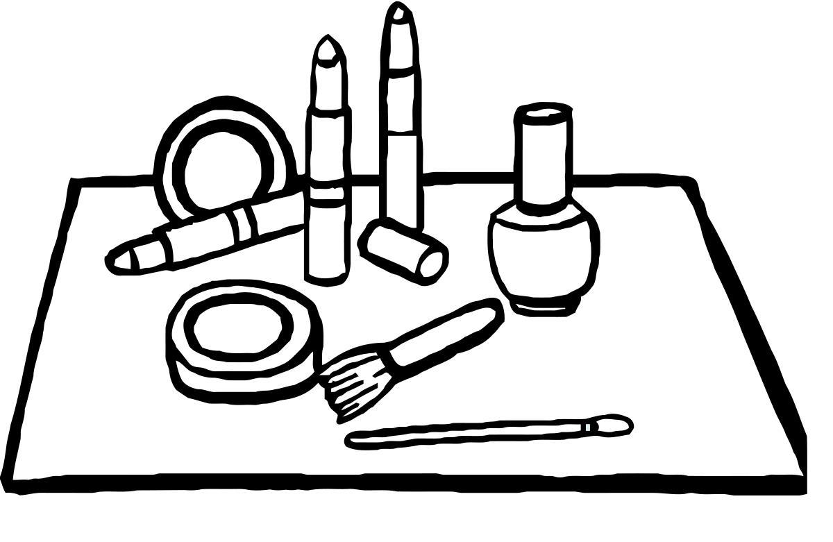 Макияж, косметика Раскраски для девочек онлайн
