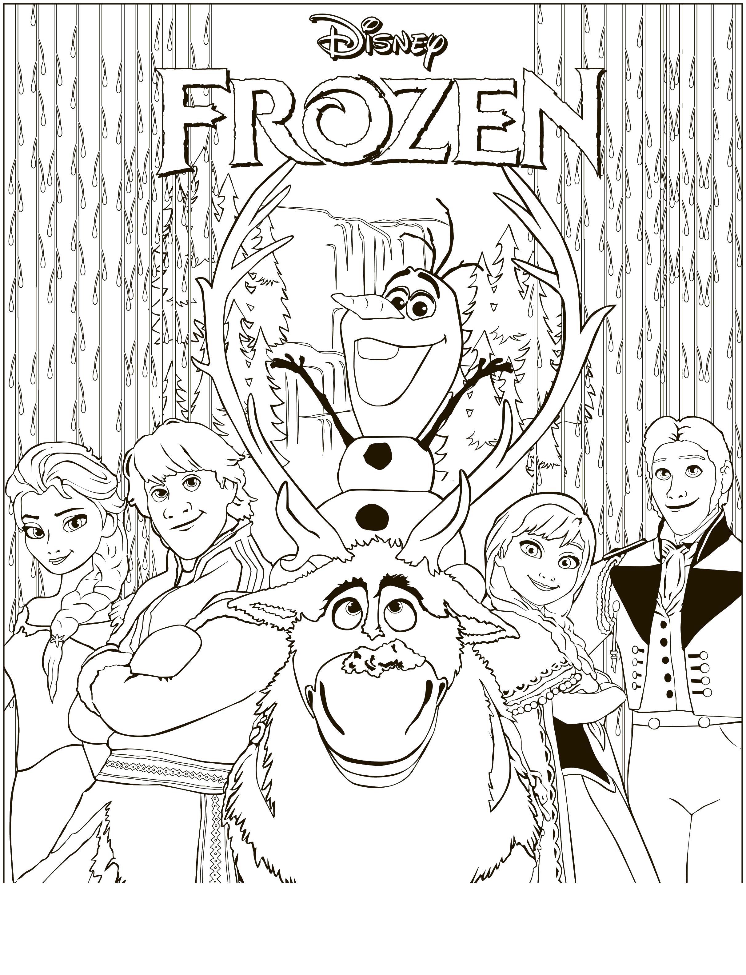 Персонажи мульта Раскраски для девочек бесплатно