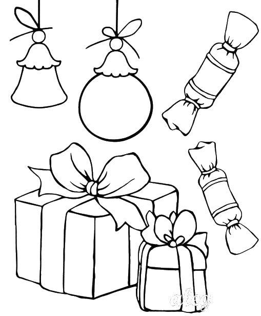Подарки Раскраски для девочек бесплатно