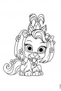 Принцесса Раскраски для девочек бесплатно