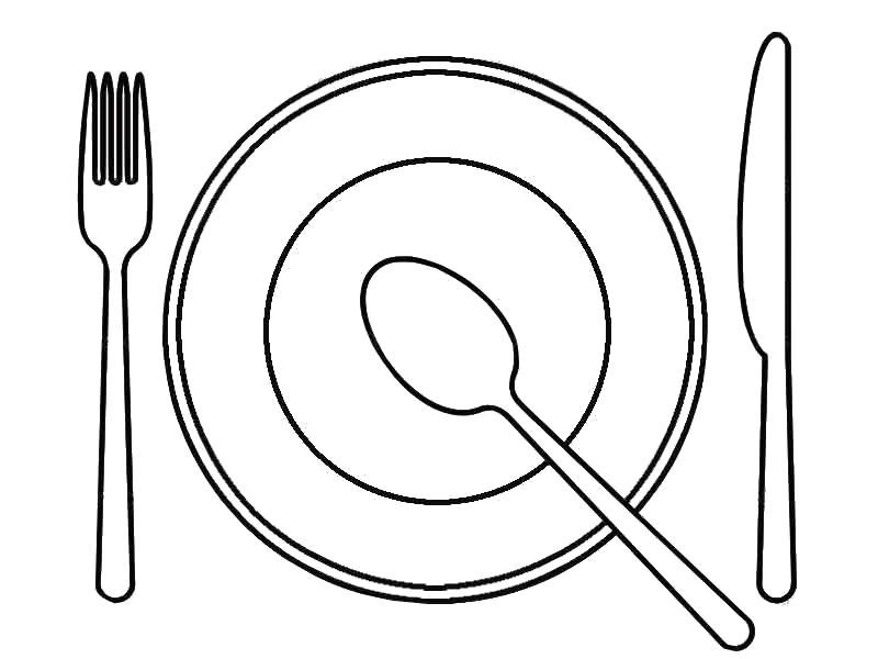 раскрась как в рисунке раскраска чашка тарелка раскраски для