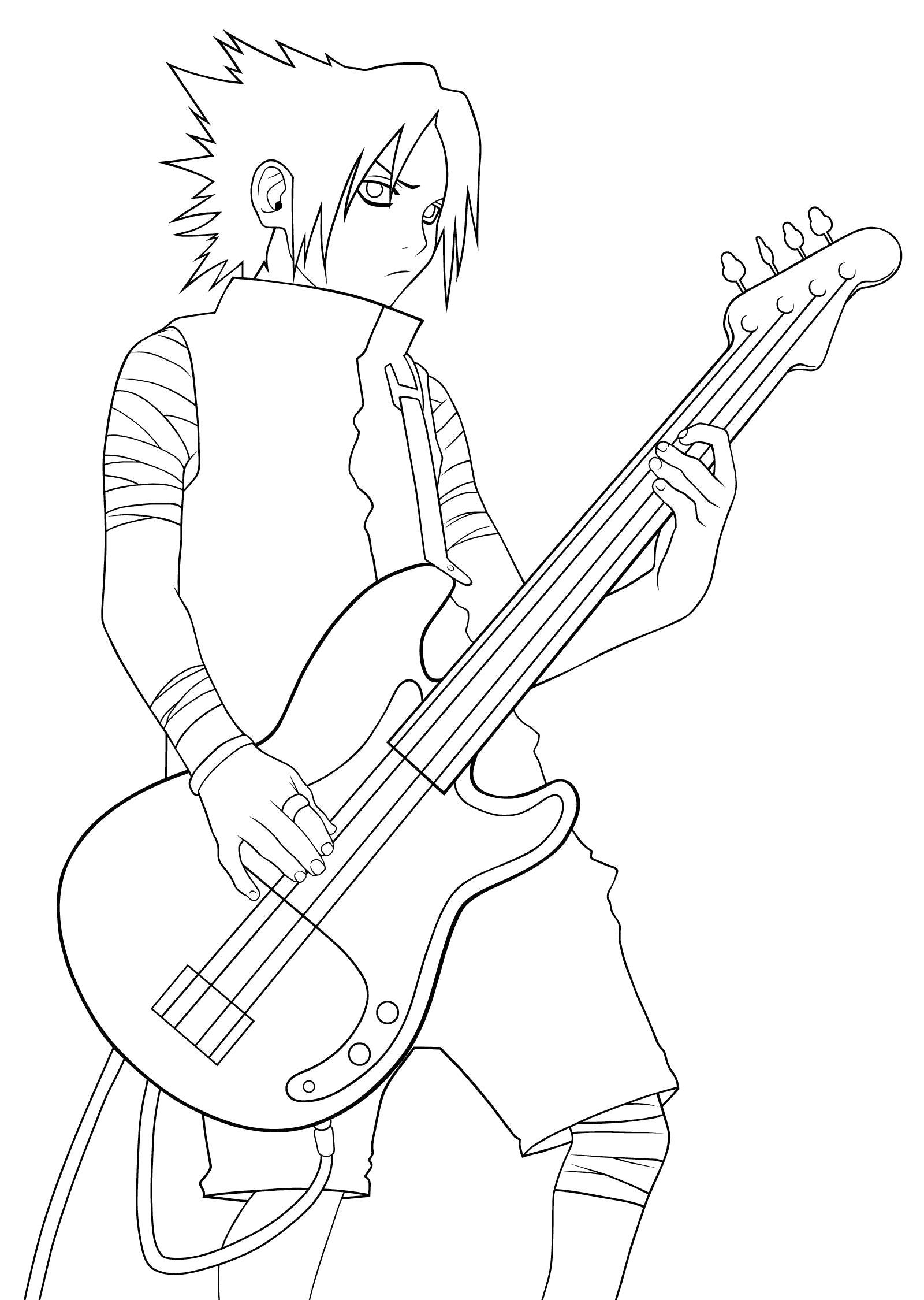 Гитарист Раскраски для девочек скачать