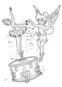 Танцующа кукла Раскраски цветов скачать