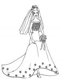 Свадьба Раскраски для девочек бесплатно