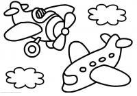 Самолеты Раскраски для девочек распечатать