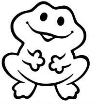 Лягушонок Раскраски для девочек распечатать