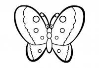 Бабочка с красивыми крыльями Раскраски для девочек распечатать