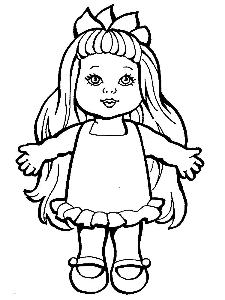 Девочка с длинными волосами Раскраски цветы для девочек