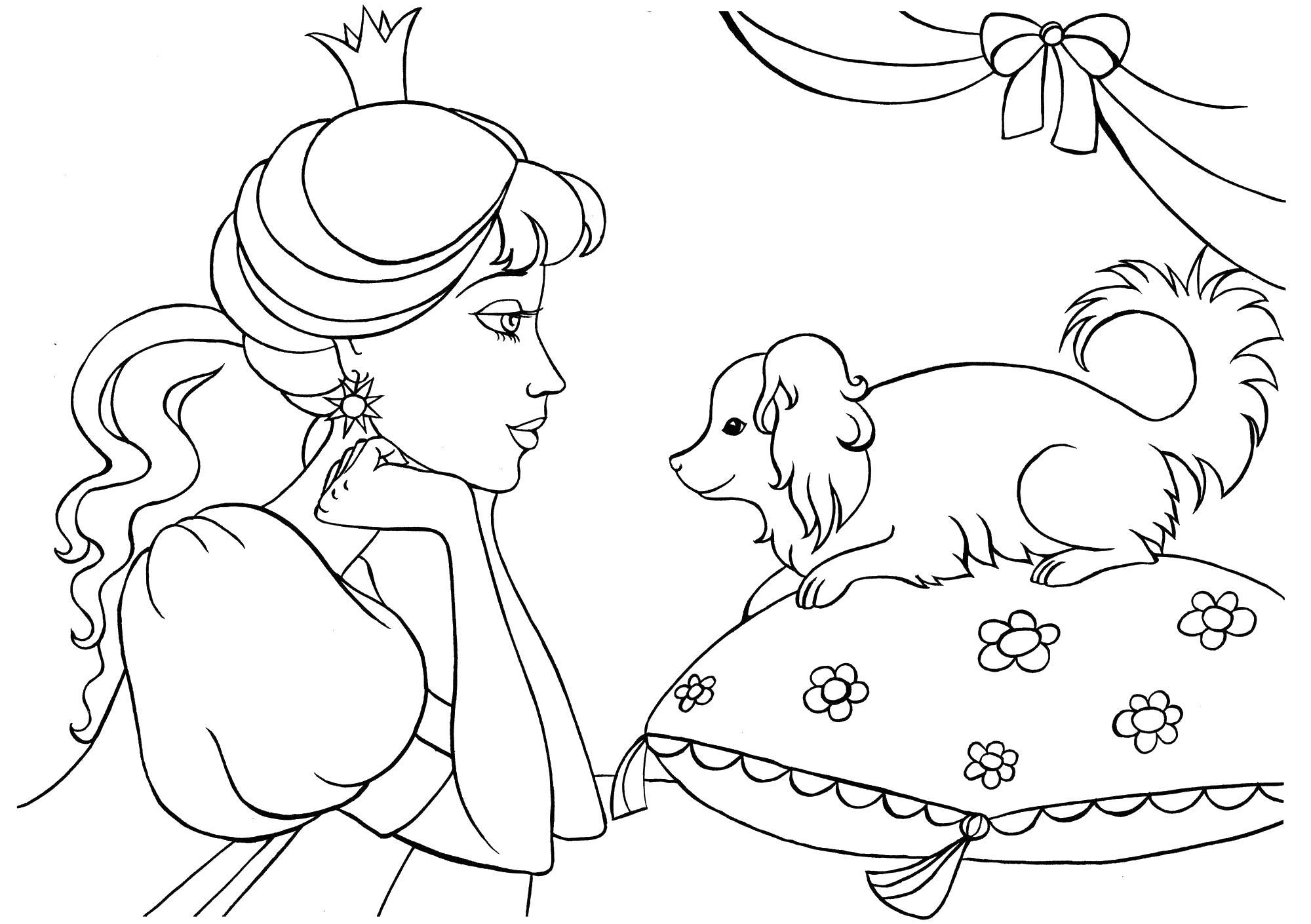 картинки раскраски для девочек 8 лет