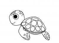 Черепаха Раскраски для девочек распечатать