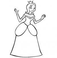 Принцесса Раскраски для девочек распечатать