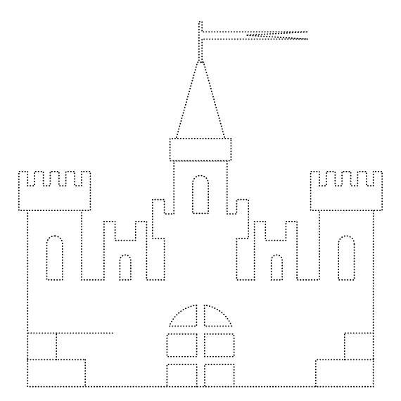 Замок принцессы Раскраски для девочек скачать