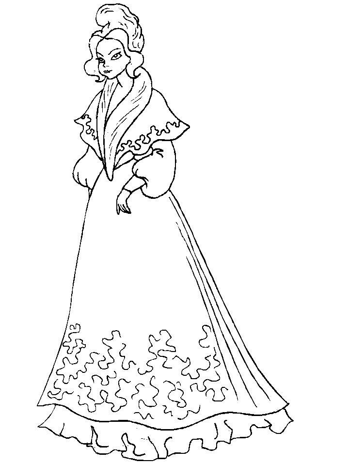 Королева Красивые раскраски цветов