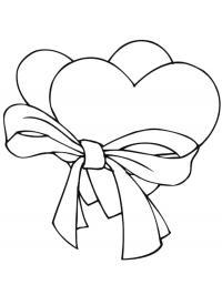 Сердечки красивые Раскраски для девочек бесплатно