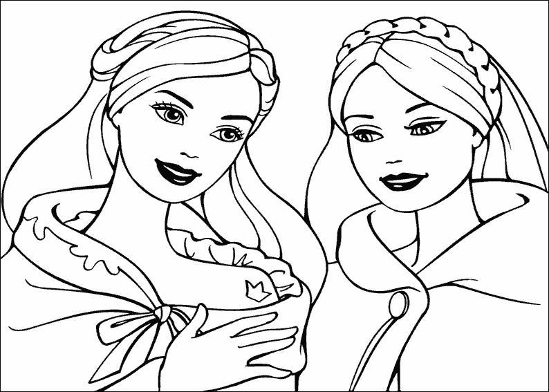 Девочки Раскраски с цветами распечатать бесплатно