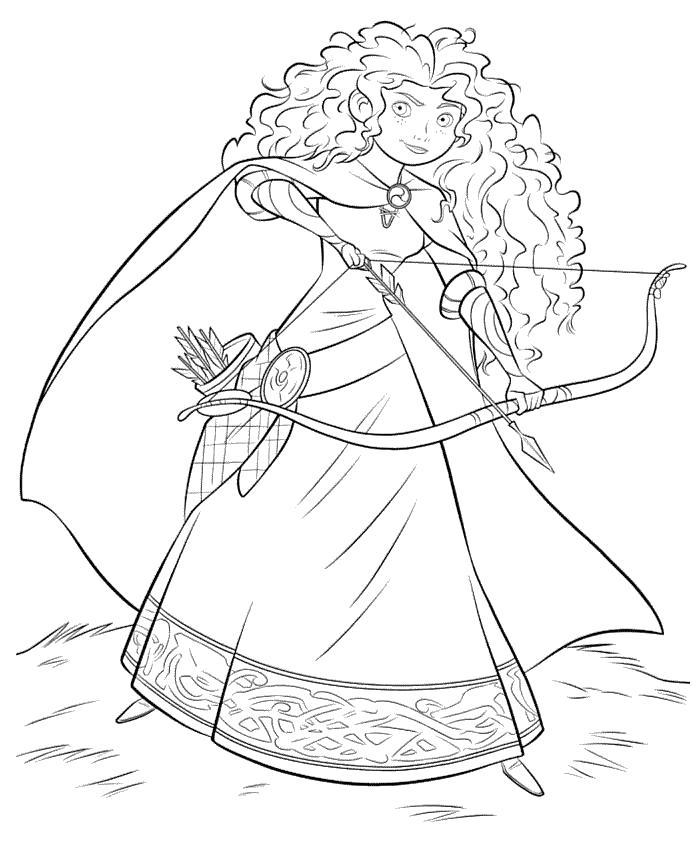 Воин принцесса Раскраски для девочек скачать