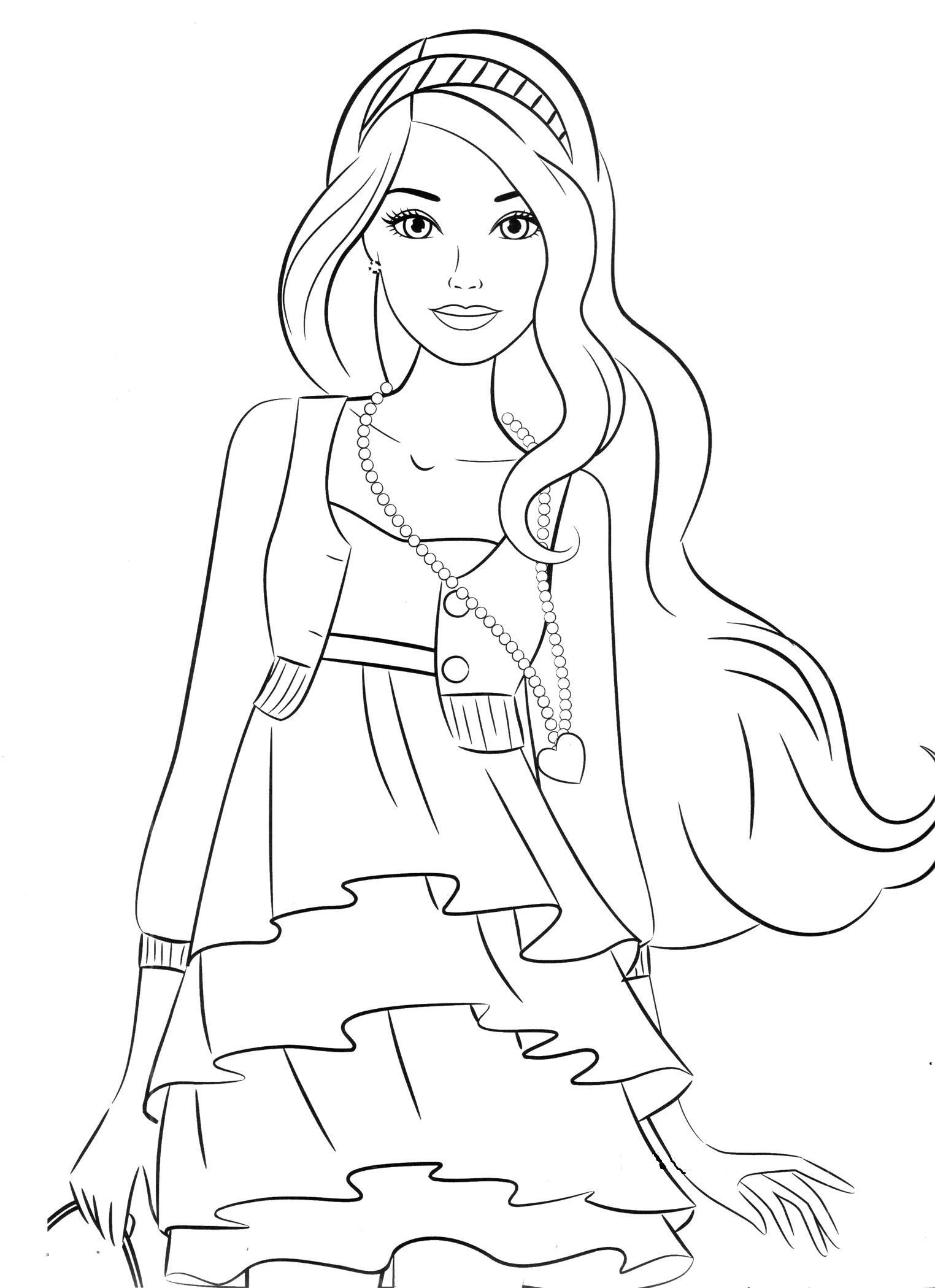 Барби приключения русалочки девушка цветы раскраски онлайн ...