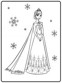 Принцесса красива Раскраски с цветами распечатать бесплатно