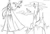 Королева Раскраски для девочек онлайн
