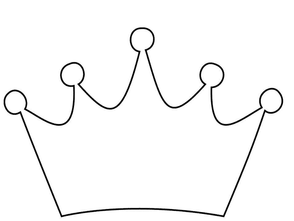 Корона Раскраски для девочек онлайн