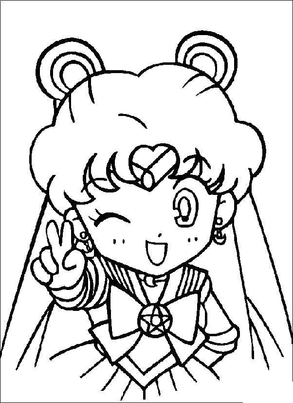 Аниме девочка с ушками Раскраски с цветами распечатать бесплатно