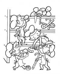 Кухня эльфов Раскраски для девочек скачать