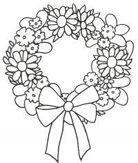 Цветы абодок Онлайн бесплатные раскраски цветы